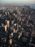 Aerial View of Buildings and Skyscrapers in New York City  New York