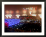 Beijing Olympics Opening Ceremony  Bird's Nest and Water Cube  Beijing  China