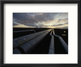 Pipes in the Prudhoe Bay Oil Field  Alaska