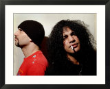Rock Guitarist Slash in Glasgow to Play with His New Band Velvet Revolver with Dave Kushner