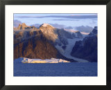 Mountains  Icebergs and Glaciers at Bjorn Oer Mountains  Scoresby Sund