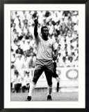 World Cup Group Three Match in Guadalajara Mexico 7th June 1970 England 0 V Brazil 1 Brazil's Pele