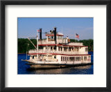 Mark Twain Riverboat  Hannibal  Missouri