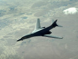 US Air Force B-1B Lancer on a Combat Patrol over Afghanistan