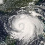 Hurricane Ike  from International Space Station