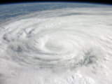 Hurricane Ike Covering More than Half of Cuba  from International Space Station