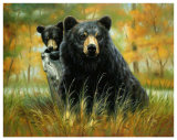 Mother and Cub Reproduction d'art par H. Kendrick