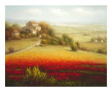 Fields of Red and Gold I