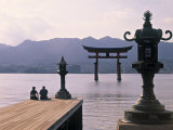 Tori  Miyajima  Honshu  Japan