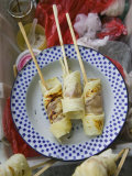 Rolled Pancake Snacks  Chinese Street Food  Old Town  Dali  Yunnan Province  China