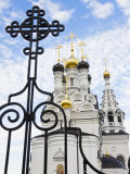Russian Orthodox Church in Bagrationovsk  Kaliningrad  Russia
