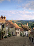 Gold Hill  Shaftesbury  Dorset  England  UK