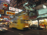 Tram  Causeway Bay  Hong Kong  China
