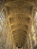 King's College Chapel  Cambridge  Cambridgeshire  England