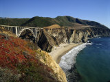 Bixby Bridge  Big Sur  California  USA