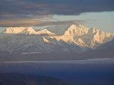 Kanchenjunga  Bhanu Bhakta Sarini  Observation Hill  Darjeeling  West Bengal  India