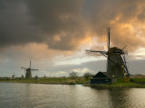 Kinderdijk Windmills  Zuid  Holland