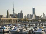 Kuwait City and Sharq Souk Marina  Kuwait