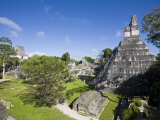 Tikal  El Peten  Guatemala