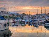 Cannes  Old Town Le Suquet  Vieux Port  Provence-Alpes-Cote D'Azur  France