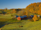 Jenne Farm  Nr Woodstock  Vermont  USA