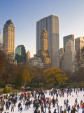 Central Park  Wollman Icerink  Manhattan  New York City  USA