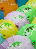 Souvenir Paper Umbrellas  Mingshan  Fengdu Ghost City  Fengdu  Yangtze River  Chongqing  China