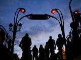 Metro Entrance  Montmartre  Paris  France