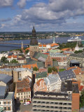 City Skyline  Riga  Latvia