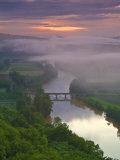 Dordogne River  Dordogne  Aquitaine  France