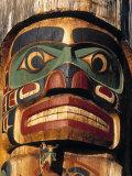 Totem Poles  British Columbia  Canada