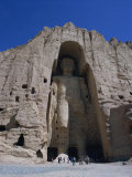 Worlds Largest Standing Buddha  Bamiyan  Afghanistan