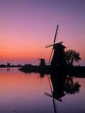 Windmills  Kinderdijk  Zuid  Holland