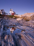 Pemaquid Point Lighthouse  Maine  USA