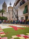 Sitges  Corpus Christi Celebrations  Catalonia  Spain