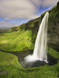 Seljalandfoss Waterfall  South Coast  Iceland