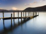 Brandelhow Bay Jetty  Derwentwater  Keswick  Lake District  Cumbria  England