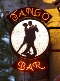 Tango Bar Sign  Buenos Aires  Argentina