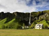 Landscape Near Vik  South Coast  Iceland