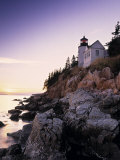Bass Harbor Head Lighthouse  Acadia Nat Park  Maine  USA