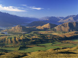 View from Coronet Peak  Queenstown  New Zealand