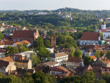 Vilniusview over the Old Town  Lithuania