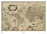 Explorer's World  c1630