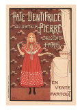 Pate Dentifrice du Docteur Pierre  c1894