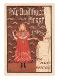 Pate Dentifrice du Docteur Pierre  c1894