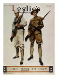 Leslie's Magazine: Too Proud to Fight  c1917
