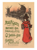 Moulin de La Galette  c1896