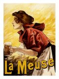 La Meuse Beer  c1900