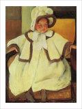 Ellen Mary Cassatt in a White Coat