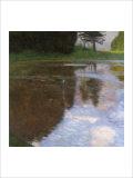 A Morning by the Pond Giclée par Gustav Klimt